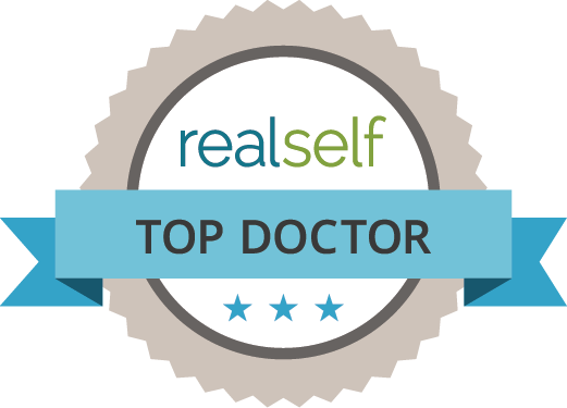 RealSelf Top Doctor Logo for Smith Plastic Surgery