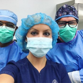 In the operating room Smith Plastic Surgery Las Vegas