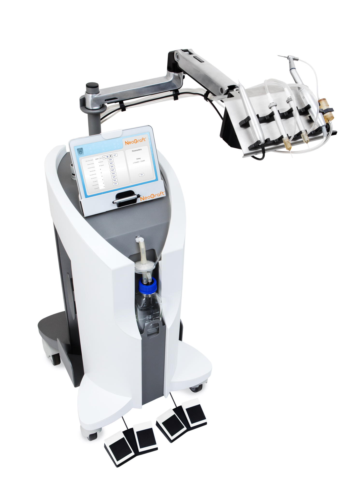 NeoGraft Machine Image for Smith Plastic Surgery